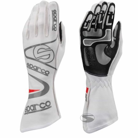 Sparco Arrow KG-7 Kart Gloves in White