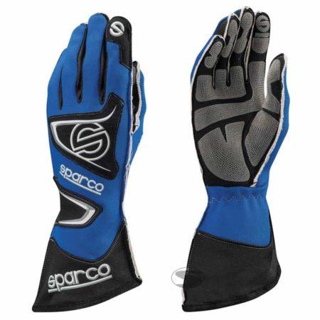 Sparco Tide KG-9 Kart Gloves in Blue