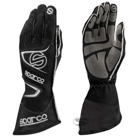 Sparco Tide KG-9 Kart Gloves in Black