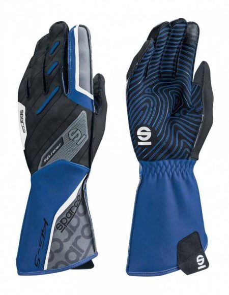 Sparco Motion KG-5 Kart Gloves in Blue