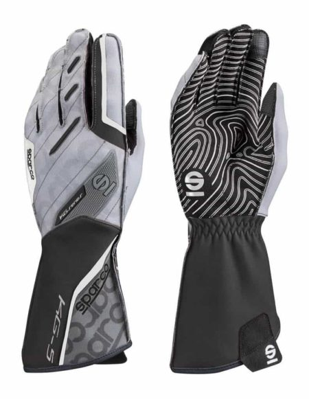 Sparco Motion KG-5 Kart Gloves in Black & Grey