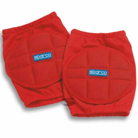 Sparco Nomex Knee Pads in Red