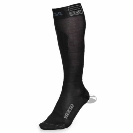 Sparco Flame Resistant Compression Socks in Black