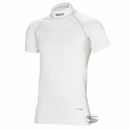 Sparco Shield RW-9 Short Sleeve Top in White