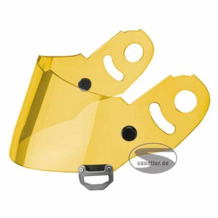 Sparco Gold Visor For WTX Helmets