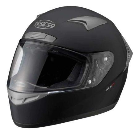 Sparco Club X1 Helmet in Black