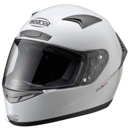 Sparco Club X1 Helmet in White