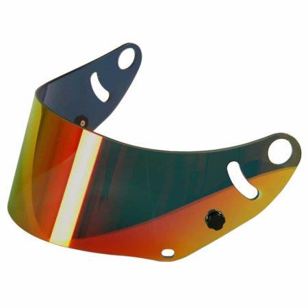Arai Red Iridium Mirrored Visor For CK-6 Helmets