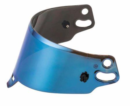 Sparco Blue Mirrored Visor For RF / KF Helmets