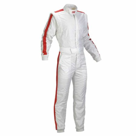 OMP Vintage One Race Suit in White