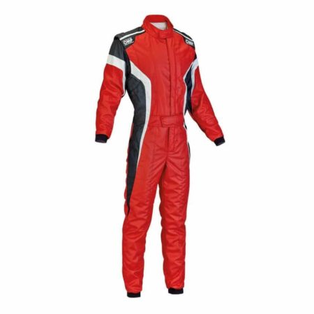 OMP Tecnica S Race Suit in Red