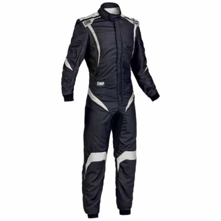 OMP One S1 Race Suit in Black & White