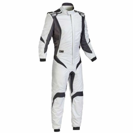 OMP One S1 Race Suit in Silver
