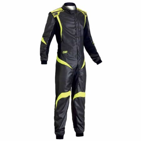 OMP One S1 Race Suit in Black & Yellow