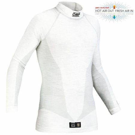 OMP One Long Sleeve Top in White