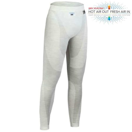 OMP One Long Johns in White