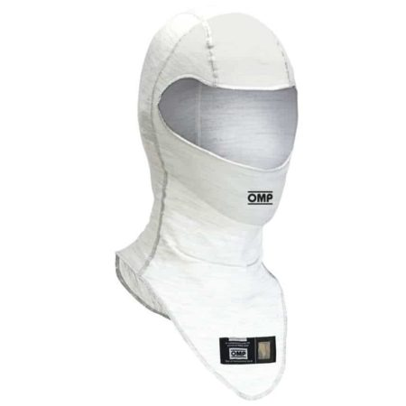 OMP One Fireproof Balaclava in White