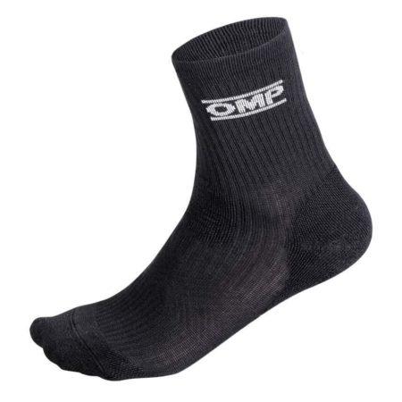OMP One Short Socks in Black