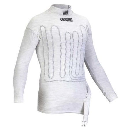 OMP FIA Approved Nomex Coolshirt in White