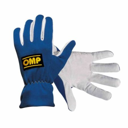 OMP New Rally Race Gloves in Blue