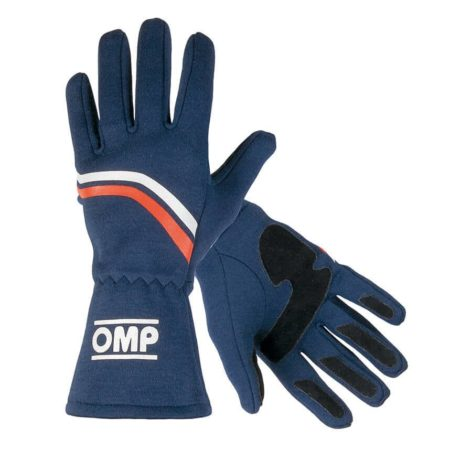OMP Dijon Race Gloves in Blue