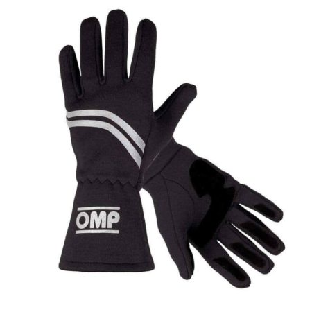 OMP Dijon Race Gloves in Black