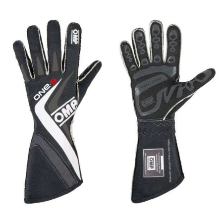 OMP One S Race Gloves in Black
