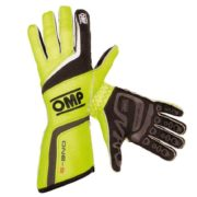 OMP One S Race Gloves in Yellow