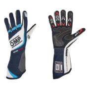 OMP One Evo Race Gloves in Navy Blue