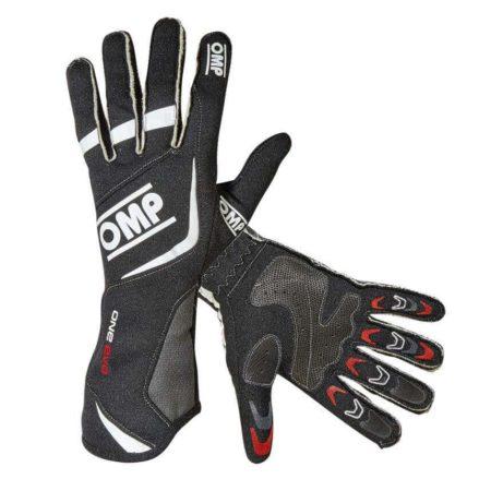 OMP One Evo Race Gloves in Black