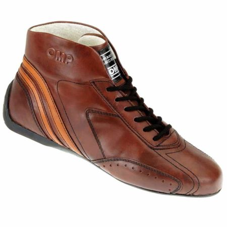 OMP Carrera Low Race Boots in Brown
