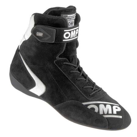 OMP First High Race Boots in Black