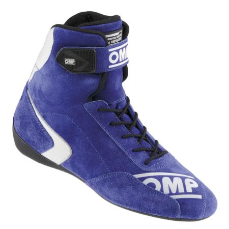 OMP First High Race Boots in Blue