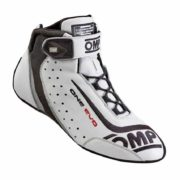 OMP One Evo Race Boots in White