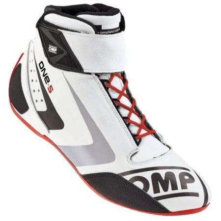 OMP One S Race Boots in White