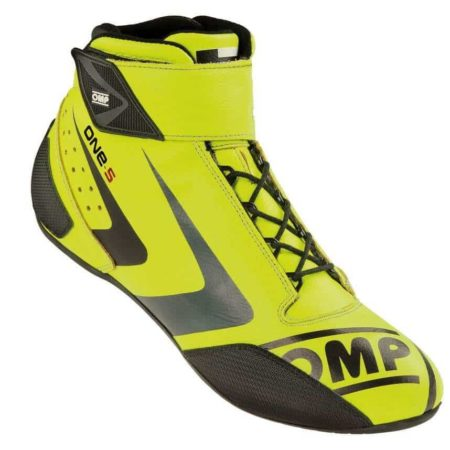 OMP One S Race Boots in Yellow