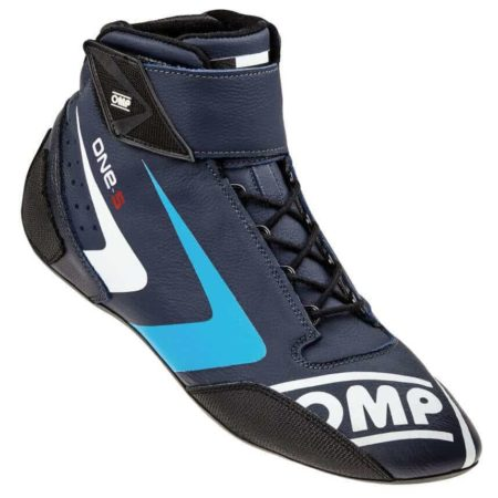 OMP One S Race Boots in Blue