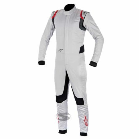 Alpinestars Supertech Nomex Race Suit in White