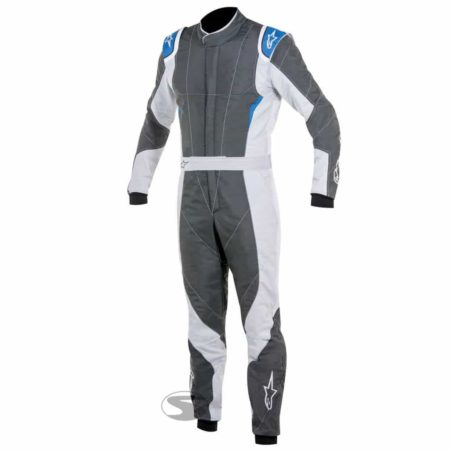Alpinestars GP Pro Race Suit in Anthracite & Blue