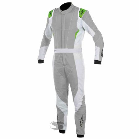 Alpinestars GP Pro Race Suit in Grey & Green