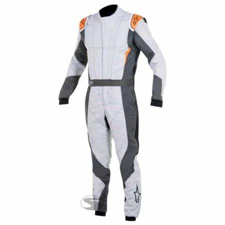 Alpinestars GP Pro Race Suit in Light Grey & Orange
