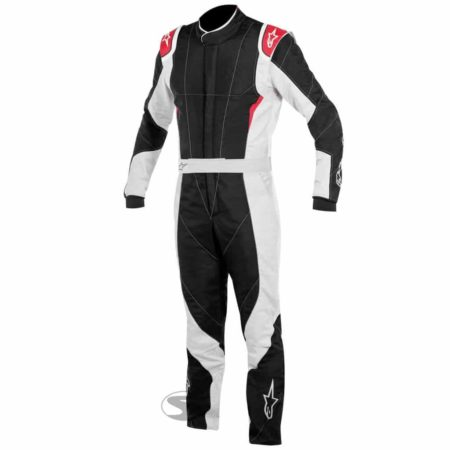 Alpinestars GP Pro Race Suit with Boot Cut in Black & Red