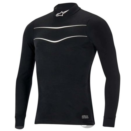 Alpinestars Race Long Sleeve Fireproof Top in Black