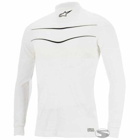 Alpinestars Race Long Sleeve Fireproof Top in White