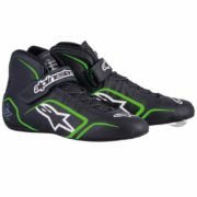 Alpinestars Tech 1-Z Race Boots in Black & Green