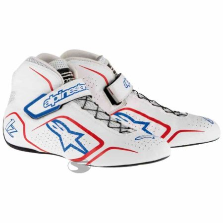 Alpinestars Tech 1-Z Race Boots in White