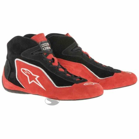 Alpinestars SP Race Boots in Red