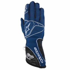 Alpinestars Tech 1-ZX Racing Gloves in Blue thumbnail