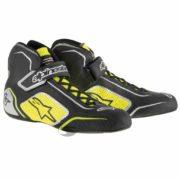 Alpinestars Tech 1-T Race Boots in Yellow