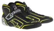 Alpinestars Tech 1-T Race Boots in Black & Yellow